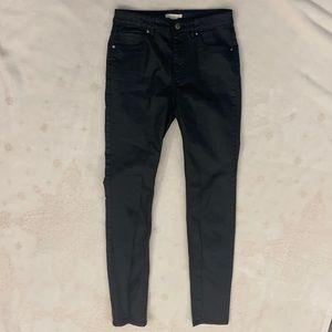 H&M Black Women's Jeans, Size 6 (Eur 36)